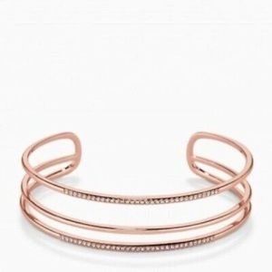 Stella & Dot - Pavé Open Bar Cuff